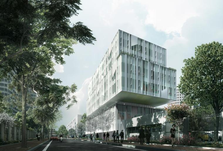 [上海]现代风格桂谷大楼建筑文本(PDF+58页)
