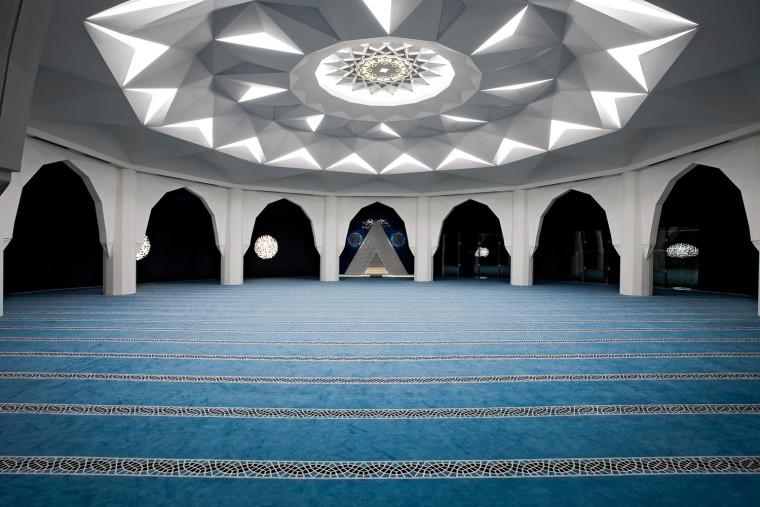 土耳其马尔马拉大学神学系清真寺-11