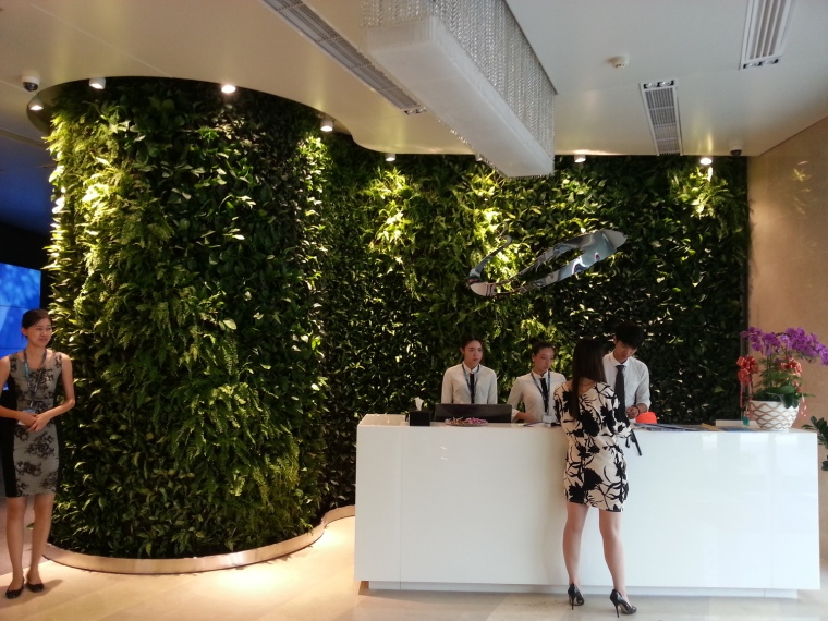 法式植物墙