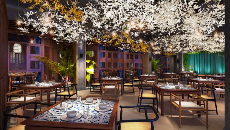 许昌群英会主题餐厅设计_10