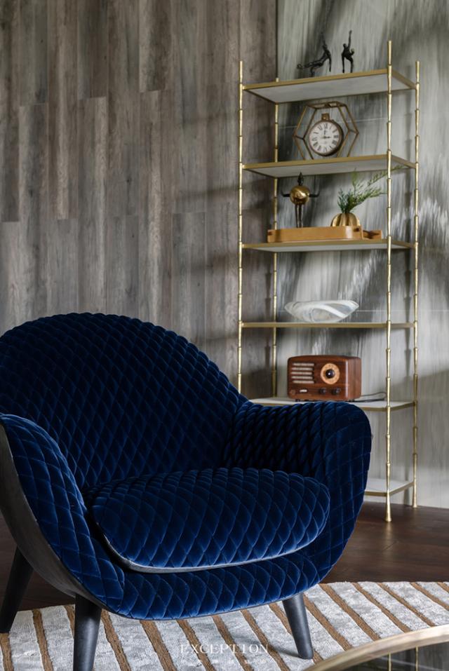 毅气风发--招商双玺豪宅软装设计全案-  【单人椅品牌·Polifo第3张图片