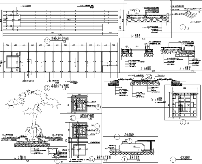 [四川]新亚洲风格高档别墅区景观设计全套施工图(赠PDF施工图)