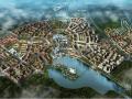 [四川]滨湖特色小镇中西合璧城市园林景观规划设计