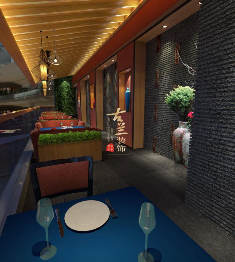 璟府小厨餐厅-成都主题餐厅设计-古兰装饰_3
