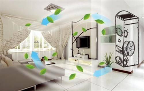 空调风系统设计做得好,通风效果差不了