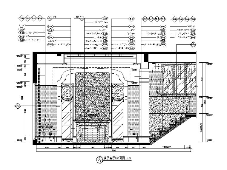 地中海别墅设计CAD施工图(含效果图、软装方案)_2