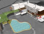 小型别墅SU模型