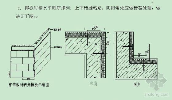 EPS聚苯板薄抹灰外墙保温系统施工工艺