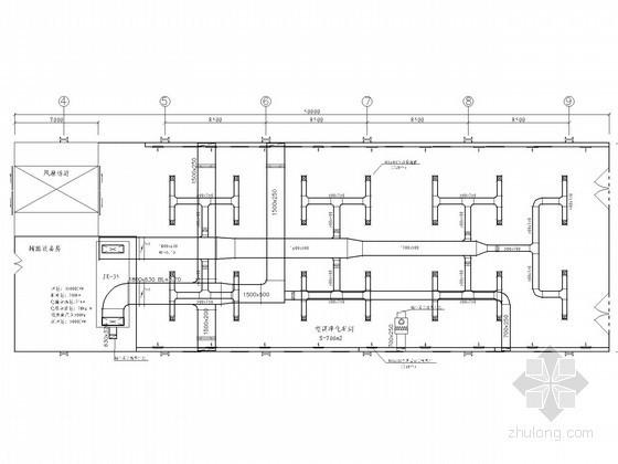 汽车车间洁净空调设计施工图