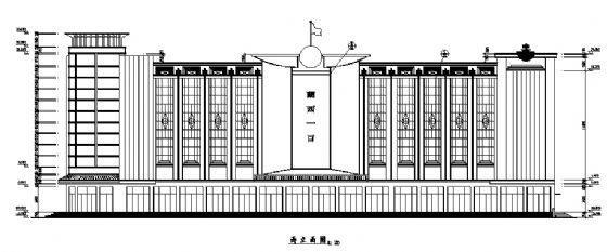 四层商场建筑施工图-2