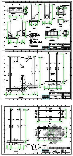 某电厂虹吸井结构图