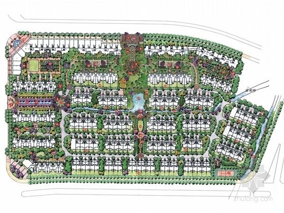 [杭州]英式风格高档居住区景观深化设计方案