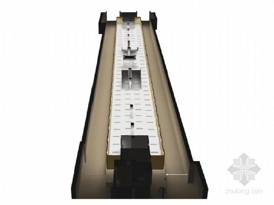 地铁站厅及站台吊顶天花设计图13张(浙江)