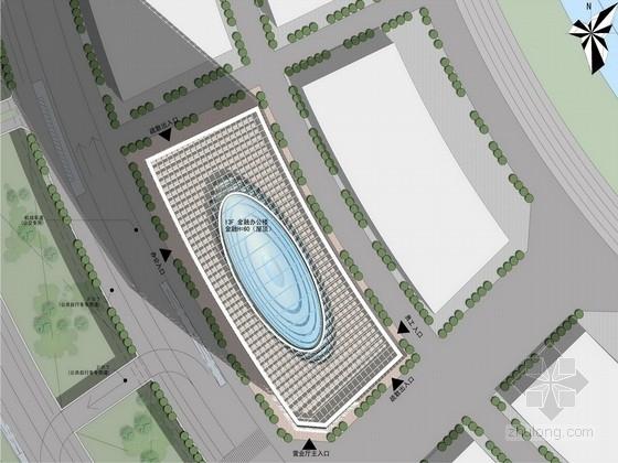 [河南]生态肌理新区CBD中心景观规划设计方案