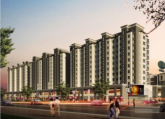 [安徽]大型住宅项目建筑安装工程预算书(含CAD图纸)