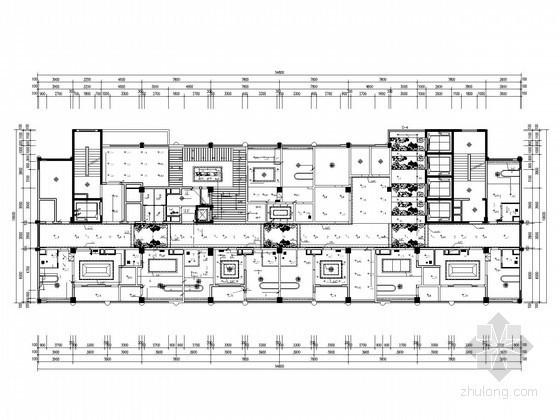[四川]三甲医院弱电智能全套图纸95张(多安装大样 工程完整安装清单