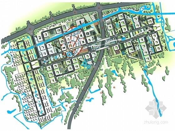 [上海]中国电信信息园区景观设计全手绘方案(美国公司设计)