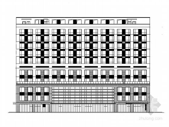 [江苏]10层现代风格省级人民医院建筑设计施工图(知名设计院)