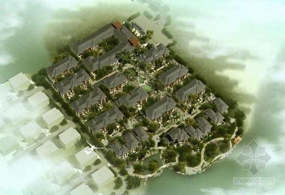 [江苏]中式风格园林住宅区规划设计方案文本