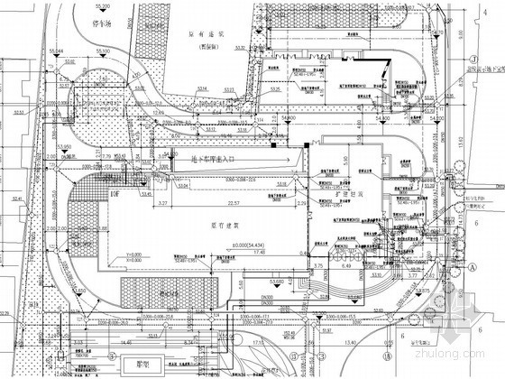 [湖北]高层办公楼给排水施工图(喷淋系统)
