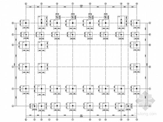 [江西]地上二层现浇框架结构风雨操场结构施工图