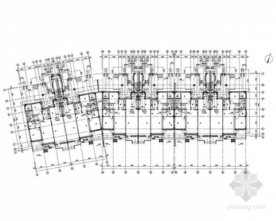 [辽宁]多层居住建筑给排水施工图(同层排水)