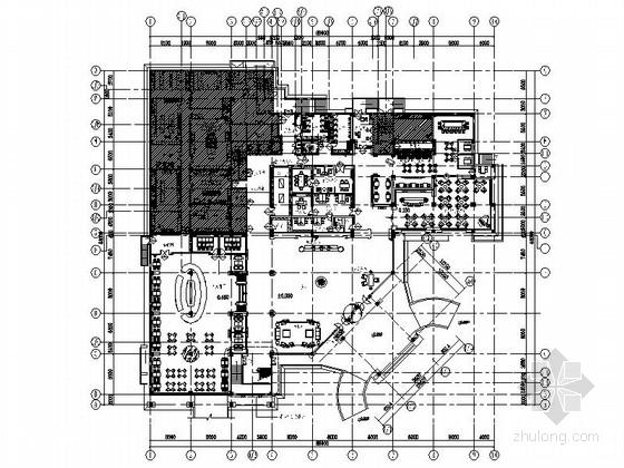 [江苏]古典豪华欧式精品花园式商务酒店主楼室内装修施工图