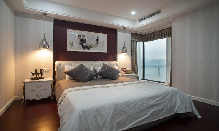 珊瑚水岸现代风格设计实景完工效果图时尚大气的家-图片6.jpg