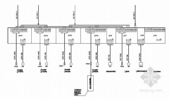 u型生产线布局图资料下载-某生产线4.5MW发电工程电气设计图