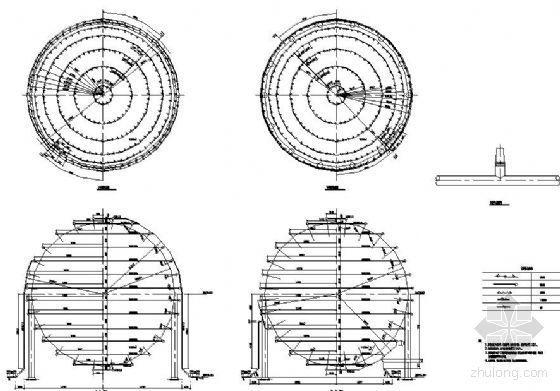 两套球罐水喷雾管道布置图