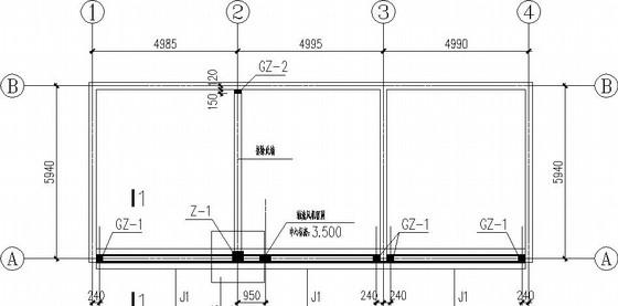 临时变电站新增结构施工图