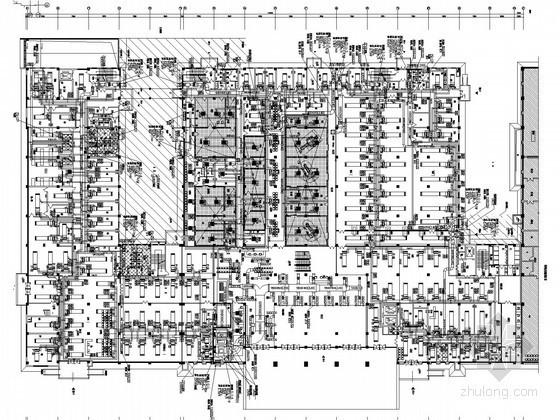 [安徽]门诊医技病房楼空调通风及防排烟系统设计施工图(风冷多联机系统)