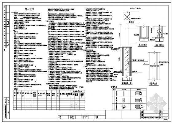 广东某院预应力混凝土管桩(施打)说明及大样