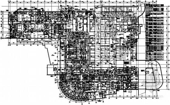 医院空调设计大院资料下载-[上海]知名医院综合楼空调通风设计施工图(大院图纸)