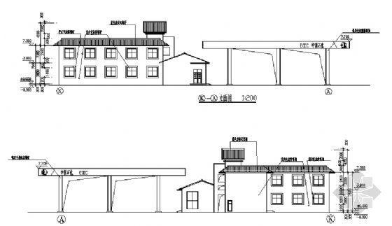 某二层加油站建筑施工图-2