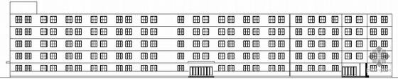 某多层框架DVD生产厂房建筑结构施工图
