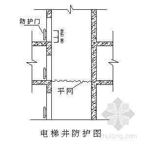 """某高层住宅楼""""三宝四口""""临边防护施工方案"""