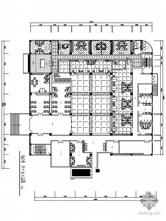 电力公司西群办公楼竣工图