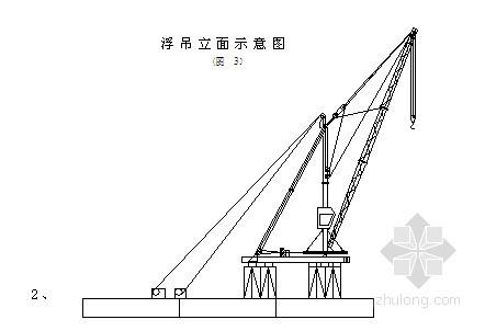 钢管桩支架作业平台进行深水桩基施工工艺