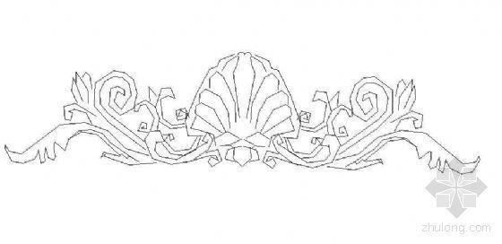 欧式雕花图块40