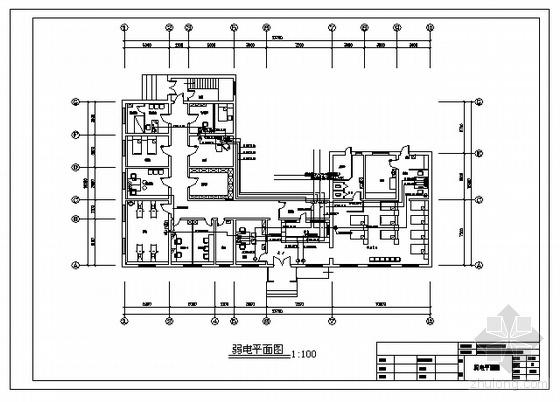 社区卫生院装施电气施工图