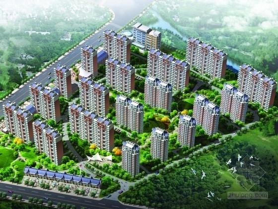 [上海]某欧式风格住宅区规划及单体设计方案文本