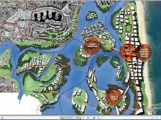 国外沿海城市规划方案