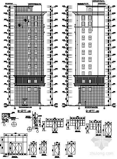 某十三层写字楼建筑施工图-2