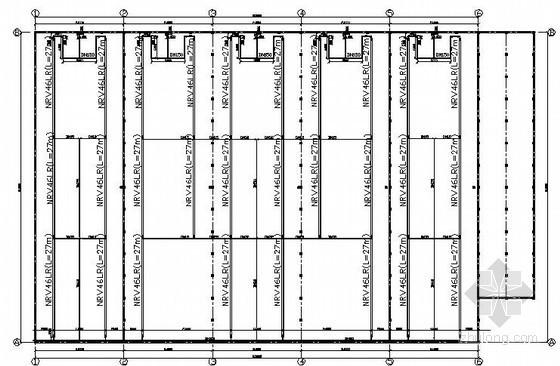 [大庆]厂房燃气红外线采暖设计施工图