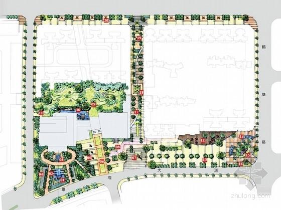 [中山]花园酒店及办公楼周边景观设计方案