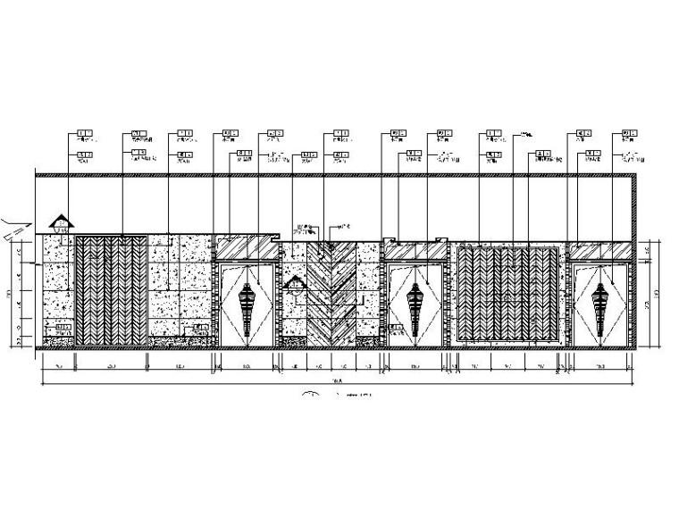 [北京]优雅唯美云南特色餐厅室内设计施工图(含效果图)_10