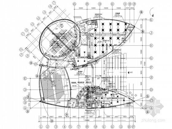 [上海]世博展馆空调通风初步设计图纸