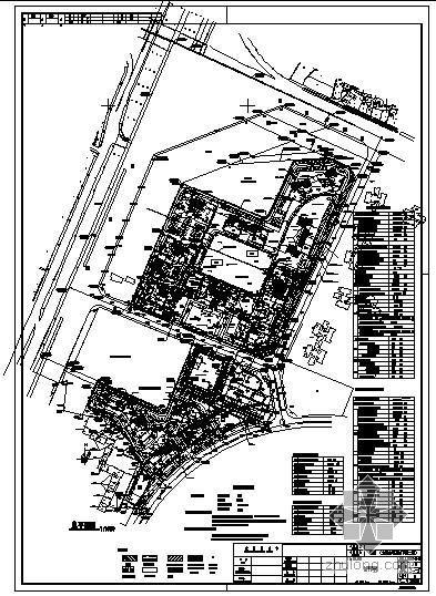 某国际城住宅建筑结构图