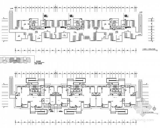 [上海]高层小区住宅建筑电气施工图纸(知名设计院)